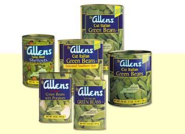 Allen Green Beans;12-10-06